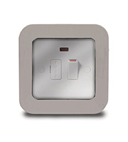 BG Electrical 13A Fused Connection Unit (Grey)