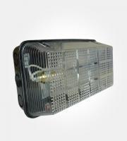 Eterna 100W Max Polycarbonate bulkhead IP65 (Black)