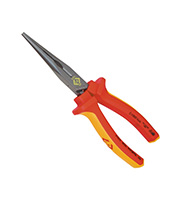 CK Tools Redline 200mm VDE Snipe Nose Pliers (Red)