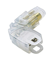 Collingwood L Connector for LEDSTRIP IP (White)