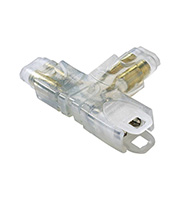 Collingwood T Connector for LEDSTRIP IP (White)