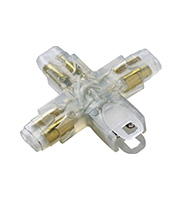 Collingwood X Connector for LEDSTRIP IP (White)