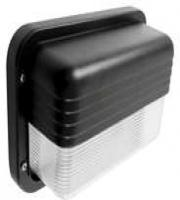 Eterna 60W IP44 Eyelid Horizontal Bulkhead (Black)