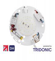 NET LED Duxford 2D EM Gear Tray 16W Tri-colour Emergency