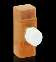 Aurora Lighting 60-400VA 1 Gang 2 Way Zero Cross Rotary Dimmer (Green)