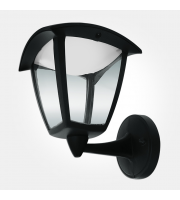 Eterna 8W Led Aluminium Lantern (Black)