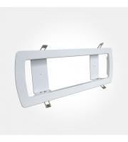 Eterna Semi-recessed Emergency Bulkhead White Frame (White)