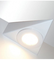 Eterna Led Triangle Cabinet Downlight (White)