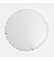 Eterna Circular Prismatic Diffuser (White)
