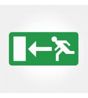 Eterna Left Arrow Legend For Exit Boxes (Green)