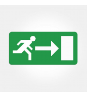 Eterna Right Arrow Legend For Exit Boxes (Green)