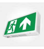 Eterna Iso Maintained Led Emergency Exit Box Sign (White)
