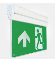 Eterna Led Multi-fixing Exit Sign With Iso Legend (White)