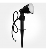 Eterna Led Single Spot Garden Spike (Black)