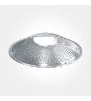 Eterna 90ø Aluminium Reflector For Circular High Bay (Silver)