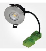 Eterna Dimmable Col Temp Select Integrated Fr Downlight (Polished Chrome)