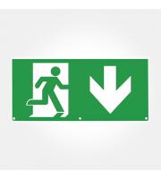Eterna Iso Down Arrow Legend For SIGNLEDEM3 (Green)