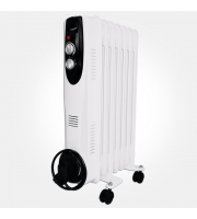 Eterna 1.5kW Oil Filled Heater (Grey)
