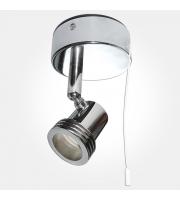 Eterna GU10 Single Spotlight With Pull Cord (Polished Chrome)