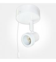 Eterna GU10 Single Spotlight With Pull Cord (White)