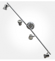 Eterna GU10 Quad Spotlight Split Bar