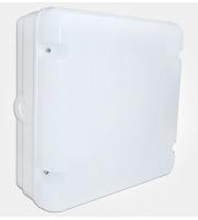 Eterna IP65 Square Emergency Led Utility Fitting W/mw