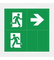 Eterna Iso Legend Set For Economy Emergency Bulkhead (Green)