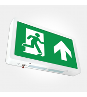 Eterna Compact Emergency Led Exit Box (White)