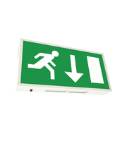Eterna 8W T5 Maintained Emergency Exit Box Sign (White)