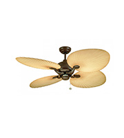 Fantasia Palm 52 Inch Ceiling Fan (Natural Brown)