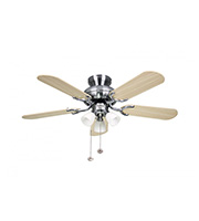Fantasia Amalfi 36 Inch Ceiling Fan Light (Matt Washed Oak)