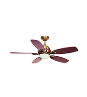 Fantasia Phoenix 42 Inch 100W Ceiling Fan Light (Gloss Mahogany)