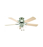 Fantasia Mayfair Combi 42 Inch Ceiling Fan Light (Matt Washed Oak)
