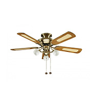 Fantasia Mayfair Combi 42 Inch Ceiling Fan Light (Gloss Oak)