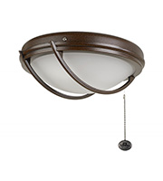Fantasia Patio Ceiling Fan Light Kit (Chocolate Brown)