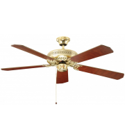 Fantasia Classic 52 Inch Ceiling Fan without Light  (Polished Brass)