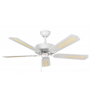 Fantasia Classic 52 Inch Ceiling Fan without Light (White)