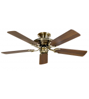 Fantasia Mayfair 42 Inch Ceiling Fan without Light (Ab/mahogany-oak Blades)