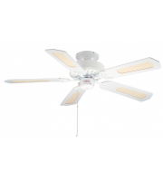 Fantasia Belaire 42 Inch Ceiling Fan without Light (White)