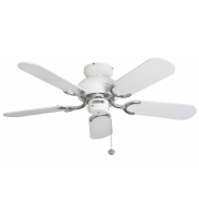Fantasia Capri 36 Inch Ceiling Fan without Light (White)