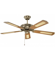 Fantasia Classic 52 Inch Ceiling Fan without Light (Antique Brass)