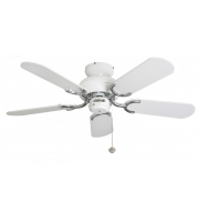 Fantasia Capri 36 Inch Ceiling Fan without Light (Stainless Steel)