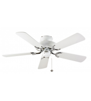 Fantasia Mayfair 42 Inch Ceiling Fan without Light  (White & Ss)