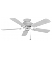 Fantasia Mayfair 42 Inch Ceiling Fan without Light (White)