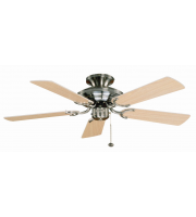 Fantasia Mayfair 42 Inch Ceiling Fan without Light (Ss/maple Blades)