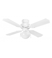 Fantasia Rimini 36 Inch Ceiling Fan with Light (White)