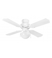 Fantasia Rimini 42 Inch Ceiling Fan with Light (White)