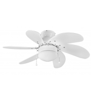 Fantasia Atlanta 30 Inch Ceiling Fan with Light (White)