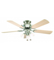 Fantasia Mayfair Combi 42 Inch Ceiling Fan with Light (Ss/maple Blades/amorie Light Kit)