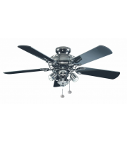 Fantasia Gemini Combi 42 Inch Ceiling Fan with Light (Pewter/venice Light Kit)
